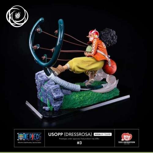 【Preorder】Tsume IKIGAI Studio One Piece Usopp Perona resin statue