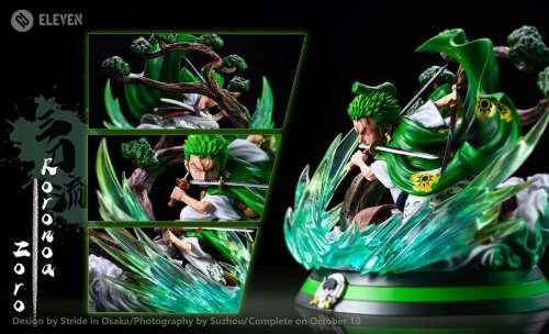 【Preorder】Eleven Studio One Piece Roronoa Zoro PU statue