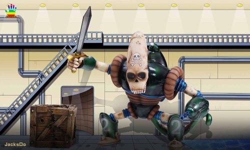 【Preorder】JacksDo Studio Dragon Ball DBZ Pirate Robot Resin Statue