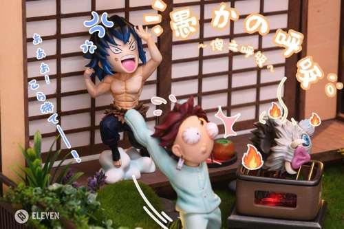 【Preorder】Eleven Studio  Demon Slayer Kamado Tanjirou Kamado Nezuko Agatsuma Zenitsu Hashibira Inosuke Resin Statue