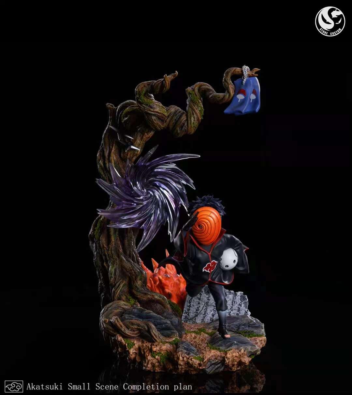 【Preorder】Stone Custom x Surge Studio Naruto Obito&Zetsu Resin Statue