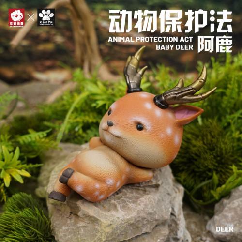 【Preorder】JacksMake Animal Protection Law Series BABY Deer Resin Statue