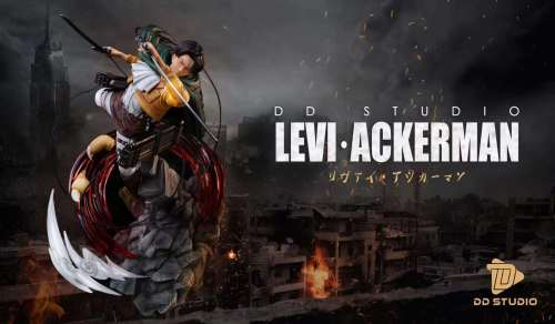 【Preorder】DD Studio Attack on Titan Levi·Ackerman Resin Statue