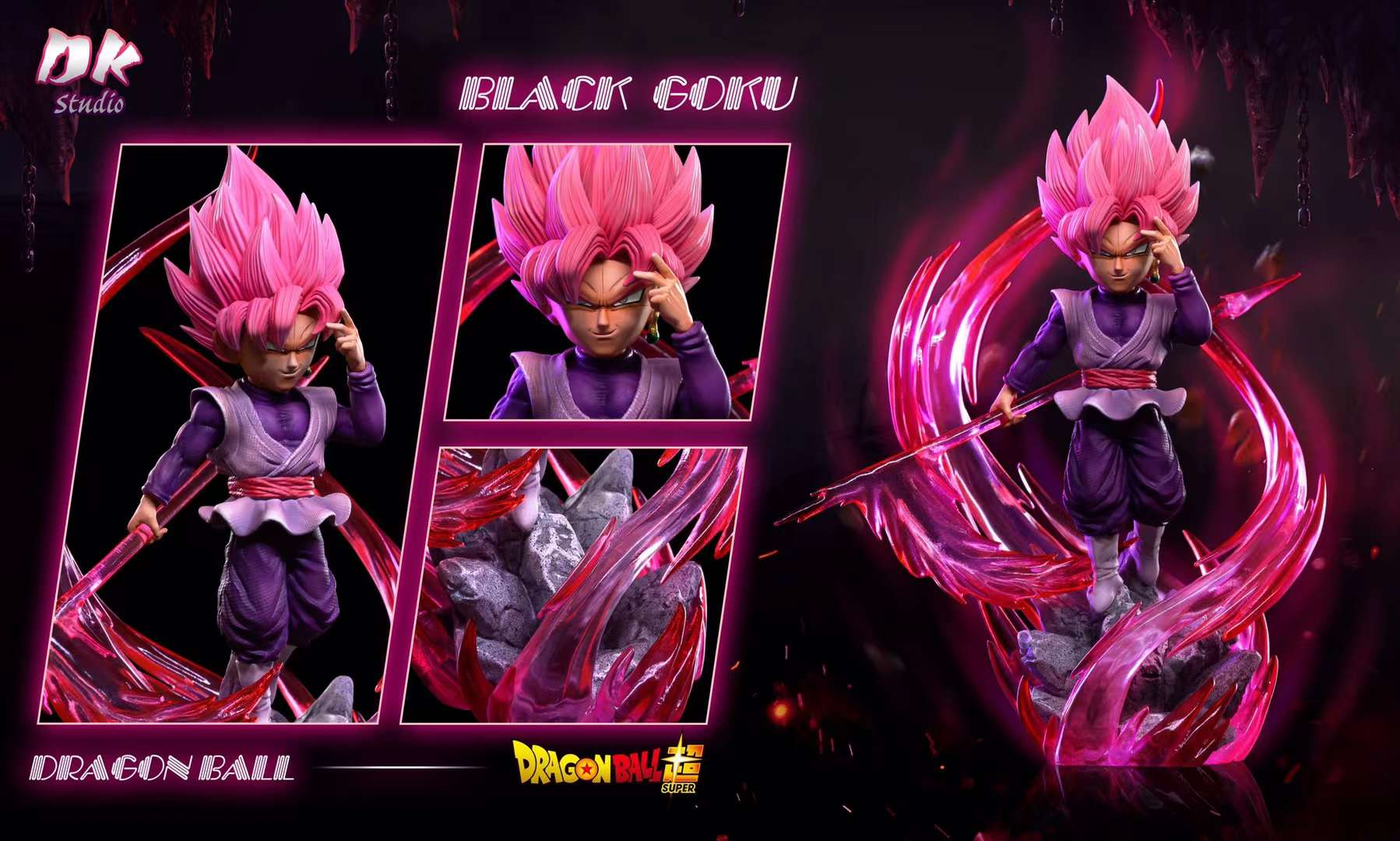 【Preorder】DK-studio Dragon Ball Black Goku Resin Statue