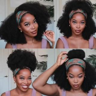 2020 BEST HAIR HEADBAND WIG