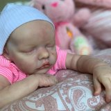 17 Pouces Poupée Reborn Réaliste Bebe Reborn Réaliste Lifelike Mignon Nouveau-né Reborn Baby Dolls Garçon Fille Jouets