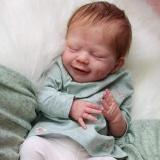 Réaliste Bebe Reborn Fille Reborn poupée bébé Souple 20 Pouces Simulation Nouveau-né Jouet Réalité Fille Cadeau de noël