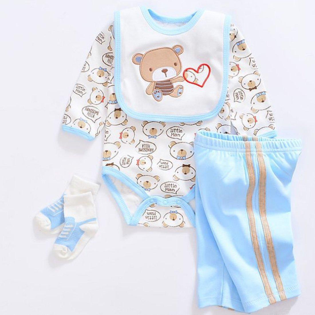 Vêtement Convient pour Les Vêtements de Poupée de 20-22 Pouces, Bébé Reborn Baby Doll, Vêtements (4 en 1)