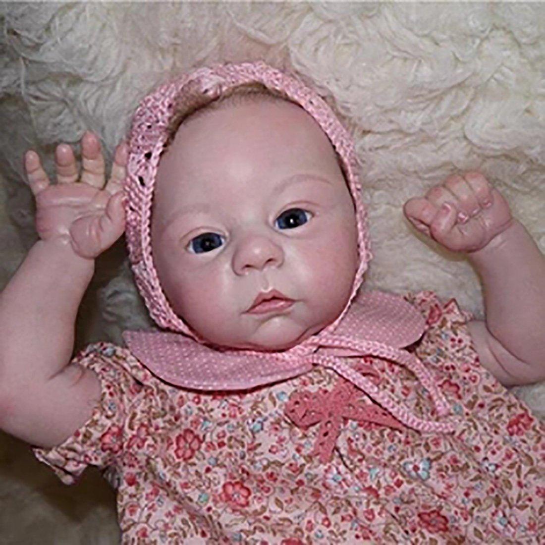 21 Pouces / 53CM Mignon Corps Reborn Baby Poupées Look Real Collection Nouveau, Né Poupée pour Fille