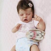 17 Pouces Mignon Corps Reborn Baby Poupées Look Real Collection Nouveau-Né Poupée Lavable pour Fille