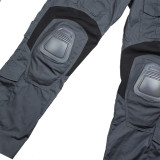G3 Tactical Hunting Pants Outdoor Male Combat Pants with Kneepad - 36R Grey
