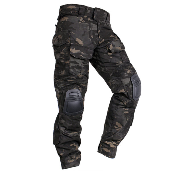 IDOGEAR Tactical G3 Pants Combat Trousers With Knee Pads -MCBK