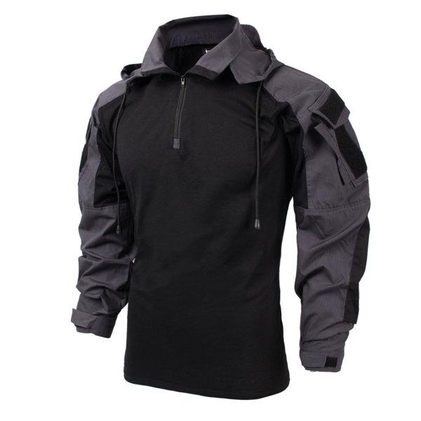 TRN PDSK Raider Combat Shirt-SP2 Version Carbon Grey