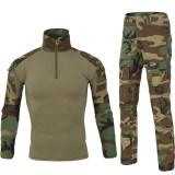 ESDY Dress Hunting Battle Uniform Suit Shirt - Pants Combat Uniform BDU