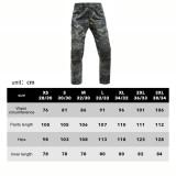 Evolution In Battle Outdoor Climbing Pants Tactical Combat Assault Pants - Black Camo (XXXL)(38/34)