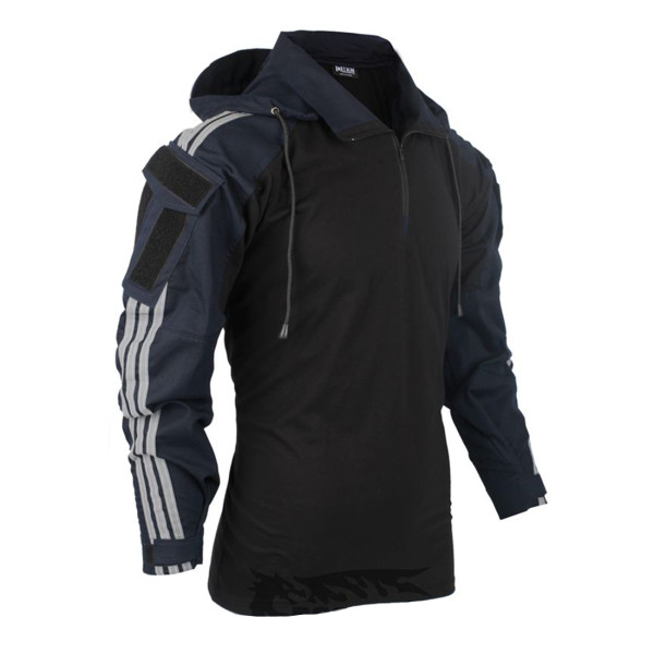 BACRAFT TRN Tactical Hooded Squatting Slav Combat Shirt