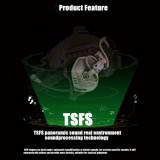 FCS-RAC Pickup Noise Reduction FAST Helmet Wireless Communication Tactical Headset - Tan Standard Version