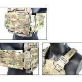 DMGear S-S Plate Frame Quick Release Tactical Vest Accessories Kit - BK