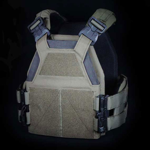 DMGear Tactical Light-weight Quick Release Vest - (Olive Drab) M (Customized Type)