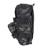 Anti-scratch Vest Accessories Bag Molle Lightweight Tactical Vest Wearproof Bag - BK