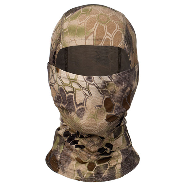 Quick-dry Tactical Face Mask Ultraviolet-proof Long Neck Cover for Riding - NO