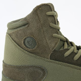 ESDY Tactics Mountain Climbing Training Shoes Lightweight High-top Boots for Outdoor - Khaki (EUR 45)