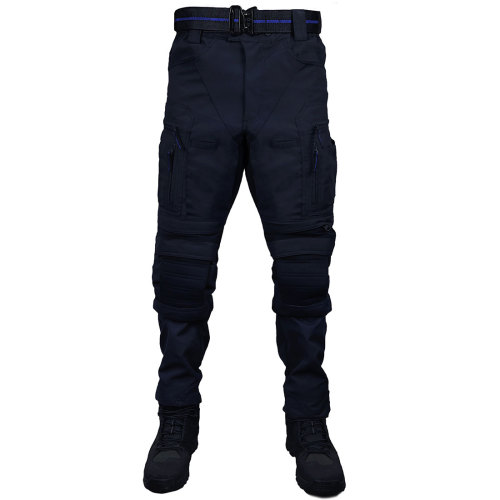 X-ELITE Flame-retardant Combat Pants Wearproof Tactical Pants - Police Blue