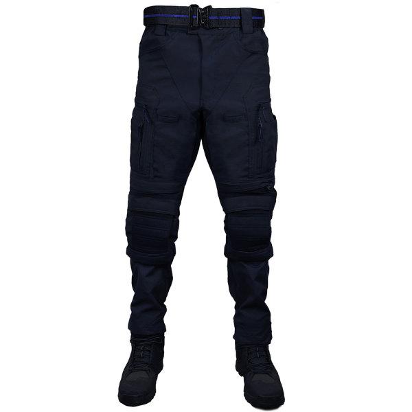 X-ELITE Flame-retardant Combat Pants Wearproof Tactical Pants - Police Blue