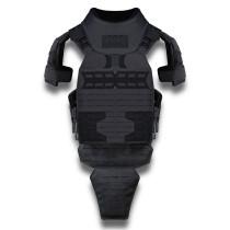UTA Gen2 Universal Armor Quick Reverse Tactical Vest - Black Flame Retardant Heavy Armor Type