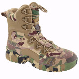 ESDY Desert Spider Mountain Climbing Training Shoes High-top Camouflage Boots for Outdoor - EUR 45
