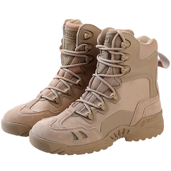 ESDY Tactical Mountain Climbing High-heeled Boots