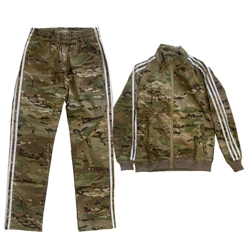 Gopnik Style Tactical Sportswear Full Set Combat Clothes - (Flat Hem Bottom) MC XXL