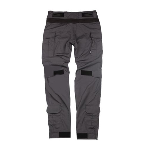 BACRAFT G3 Multifunction Tactical Pants Outdoor Male Combat Pants - Carbon Grey + Black M