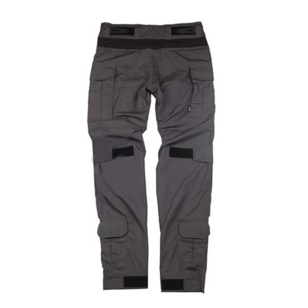 BACRAFT G3 Multifunction Tactical Pants Outdoor Male Combat Pants - Carbon Grey + Black M