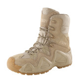 ESDY Tactics Mountain Climbing Training Shoes High-top Boots for Outdoor - Khaki (EUR 44)