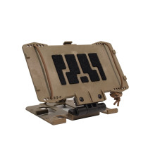 Tactical Equipment Universal Phone Panel Information Board - Tan