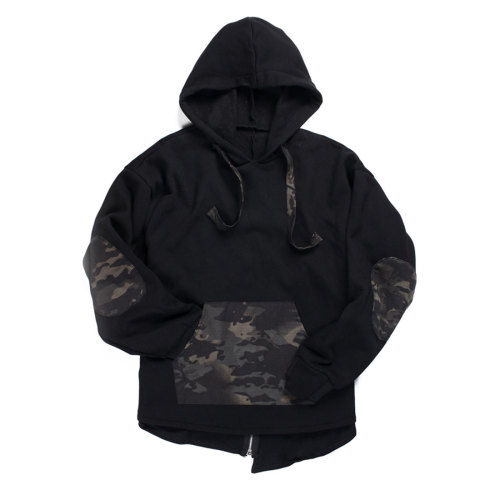 BACRAFT Japanese Style Pullover Hoodie Tactical Loose Long Sleeves - MCBK