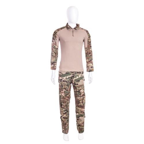 ESDY Dress Hunting Battle Uniform Suit Shirt - Pants Combat Uniform BDU - Multicam XXL