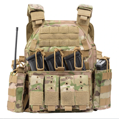 YAKEDA PHANTOM Modular Tactical Vest Plate Carrier Vest
