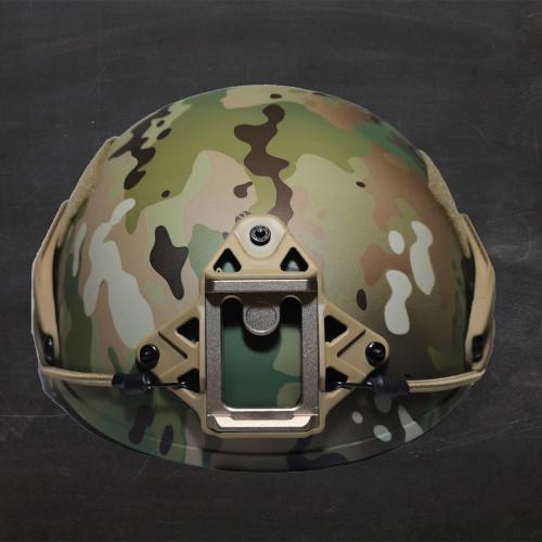 Russian Military 5.45 СПАРТАНЕЦ 3 SSO Tactical Helmet - Multicam Camo
