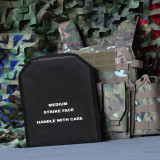 Alloy Plate for Tactical Vest plate carrier