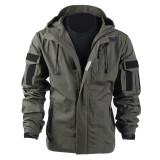 BACRAFT Outdoor Equipment Combat Uniform Tactical Coat for Man - Smoke Green