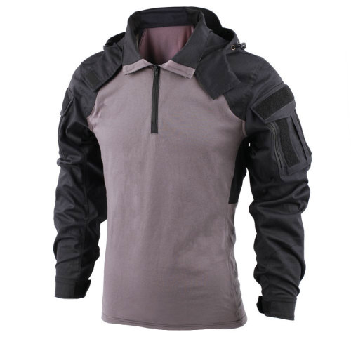 TRN PDSK Raider Combat Shirt-SP2 Version Black Grey