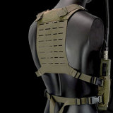 DMGear Expandable Tactical Vest Chest Rig Lightweight Military Protective Vest - MCBK