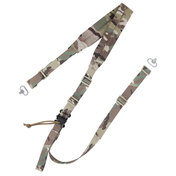 Krydex MK2 Tactical Strap Rope Double Point Adjustable Multifunctional Rope Quick Release Blaster Rope - MC