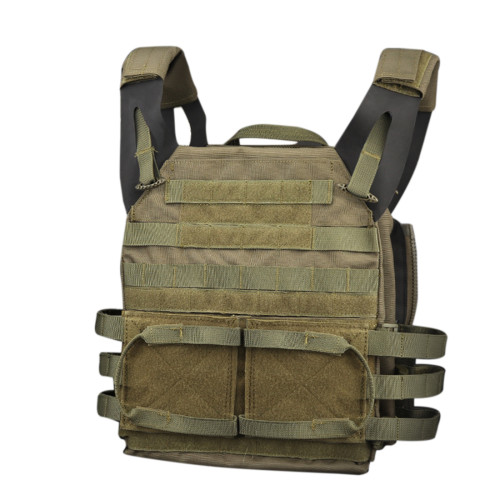 WST JPC Jump Plate Carrier Tactical 2.0 Vest Military Combat Vest - Green