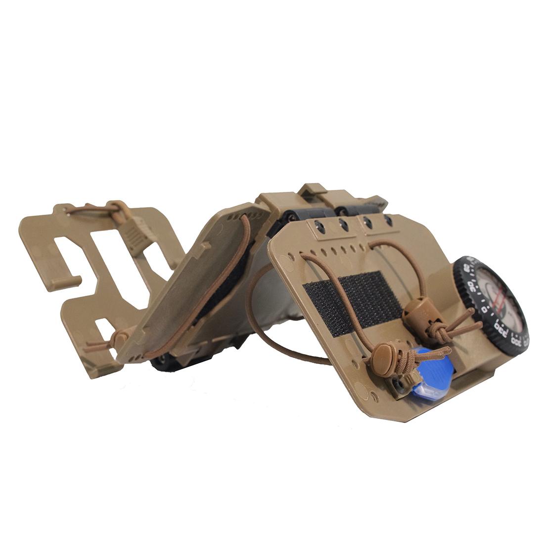 Tactical Equipment Universal Navigation Board Combine Set Skydiving Navigation Board - Tan