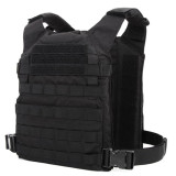 COMBAT2000 XPC Protective Board Lightweight Tactical Vest with Waist - Black M