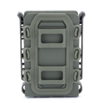 WST TPR Flexible Ar15 M4 5.56 7.62 Mag Pouch Molle Fastmag - Olive Green