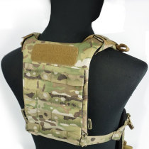 DMGear SS D3 Series Universal Back Plate Lightweight Tactical Vest Chest Rig - MC